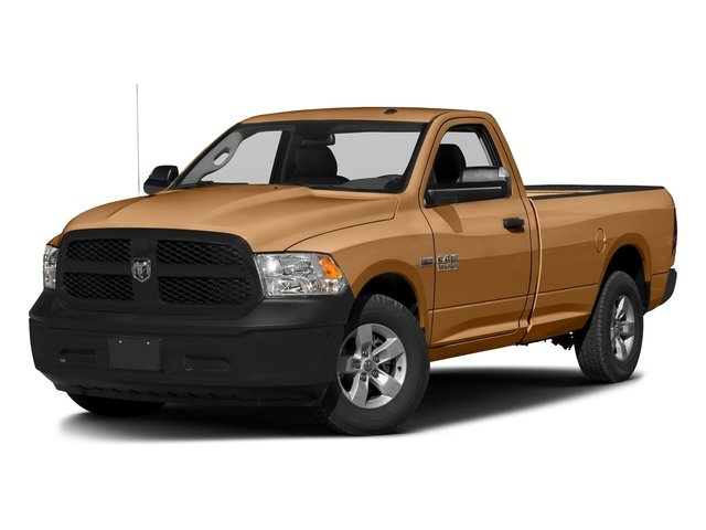 Power Tan 2017 Ram Truck 1500 Pictures 1500 Regular Cab Bighorn/Lone Star 4WD photos front view