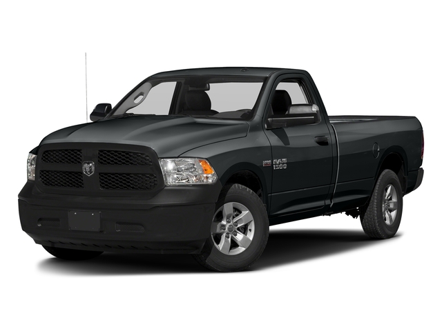 Maximum Steel Metallic Clearcoat 2017 Ram Truck 1500 Pictures 1500 Lone Star 4x2 Regular Cab 6'4 Box photos front view