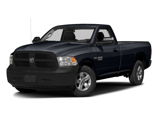Midnight Blue Pearlcoat 2017 Ram Truck 1500 Pictures 1500 Lone Star 4x2 Regular Cab 6'4 Box photos front view