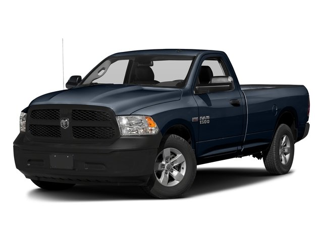 True Blue Pearlcoat 2017 Ram Truck 1500 Pictures 1500 Lone Star 4x2 Regular Cab 6'4 Box photos front view