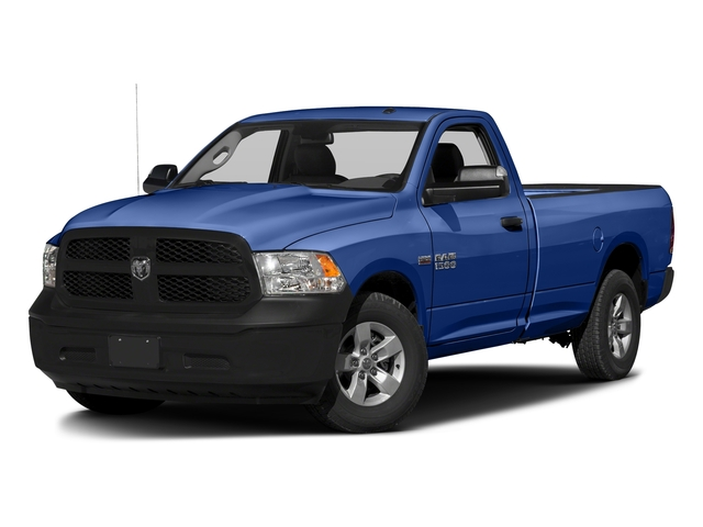 Blue Streak Pearlcoat 2017 Ram Truck 1500 Pictures 1500 Lone Star 4x2 Regular Cab 6'4 Box photos front view