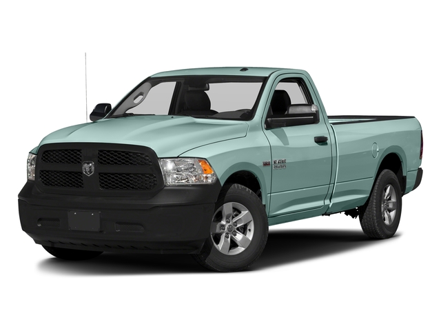 Light Green 2017 Ram Truck 1500 Pictures 1500 Regular Cab Bighorn/Lone Star 4WD photos front view