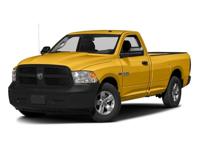 School Bus Yellow 2017 Ram Truck 1500 Pictures 1500 Regular Cab Bighorn/Lone Star 2WD photos front view