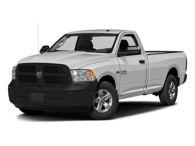 Bright Silver Metallic Clearcoat 2017 Ram Truck 1500 Pictures 1500 Regular Cab Bighorn/Lone Star 2WD photos front view