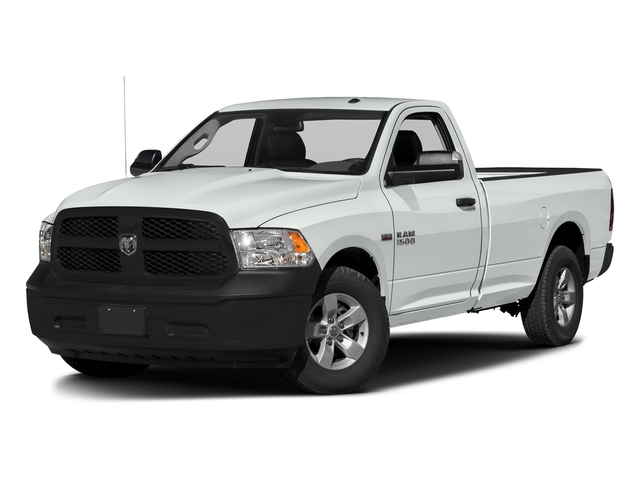 Bright White Clearcoat 2017 Ram Truck 1500 Pictures 1500 Regular Cab Bighorn/Lone Star 2WD photos front view