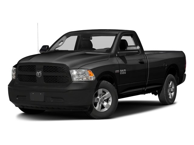 Brilliant Black Crystal Pearlcoat 2017 Ram Truck 1500 Pictures 1500 Regular Cab Bighorn/Lone Star 2WD photos front view