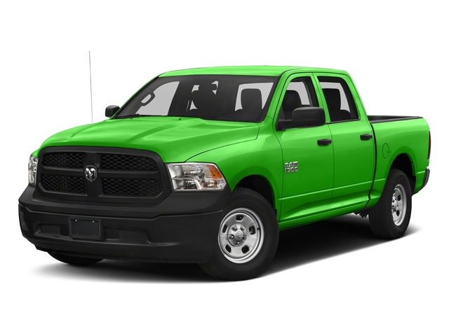 Hills Green 2017 Ram Truck 1500 Pictures 1500 Tradesman 4x4 Crew Cab 5'7 Box photos front view