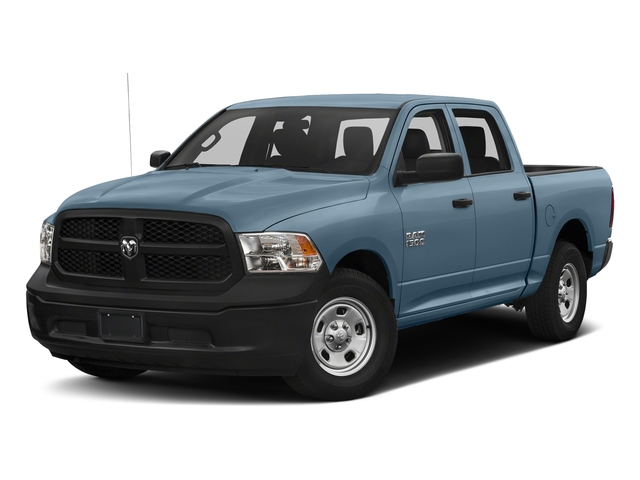 Robin Egg Blue 2017 Ram Truck 1500 Pictures 1500 Tradesman 4x4 Crew Cab 5'7 Box photos front view