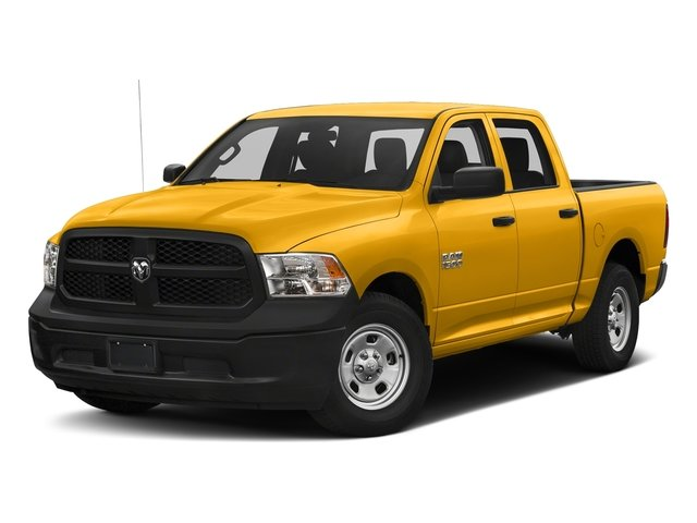 Construction Yellow 2017 Ram Truck 1500 Pictures 1500 Tradesman 4x4 Crew Cab 5'7 Box photos front view