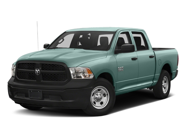 Light Green 2017 Ram Truck 1500 Pictures 1500 Tradesman 4x4 Crew Cab 5'7 Box photos front view