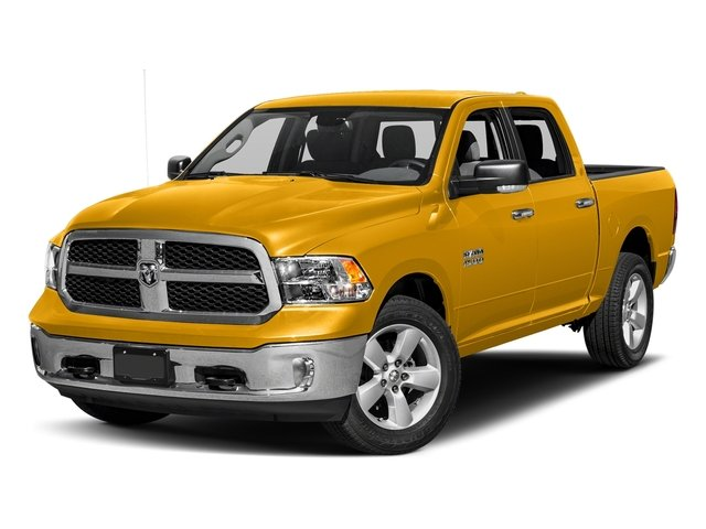 Construction Yellow 2017 Ram Truck 1500 Pictures 1500 Crew Cab SLT 4WD photos front view