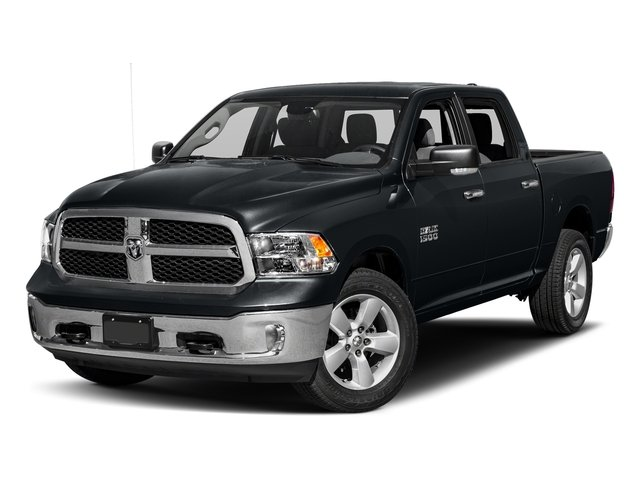 Maximum Steel Metallic Clearcoat 2017 Ram Truck 1500 Pictures 1500 Big Horn 4x2 Crew Cab 6'4 Box photos front view