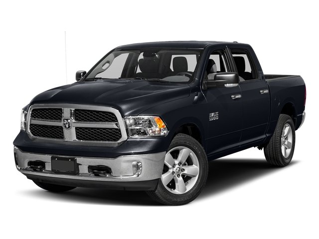 Midnight Blue Pearlcoat 2017 Ram Truck 1500 Pictures 1500 Crew Cab SLT 4WD photos front view