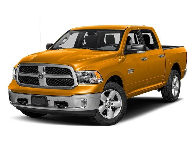 School Bus Yellow 2017 Ram Truck 1500 Pictures 1500 Crew Cab SLT 4WD photos front view