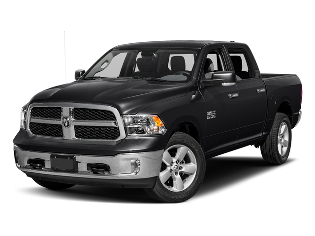 Black Clearcoat 2017 Ram Truck 1500 Pictures 1500 Crew Cab SLT 4WD photos front view