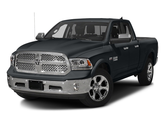 Maximum Steel Metallic Clearcoat 2017 Ram Truck 1500 Pictures 1500 Laramie 4x4 Quad Cab 6'4 Box photos front view