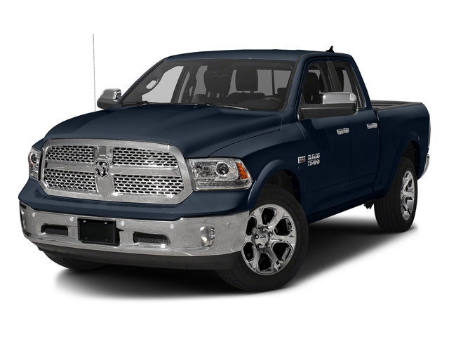 True Blue Pearlcoat 2017 Ram Truck 1500 Pictures 1500 Laramie 4x4 Quad Cab 6'4 Box photos front view