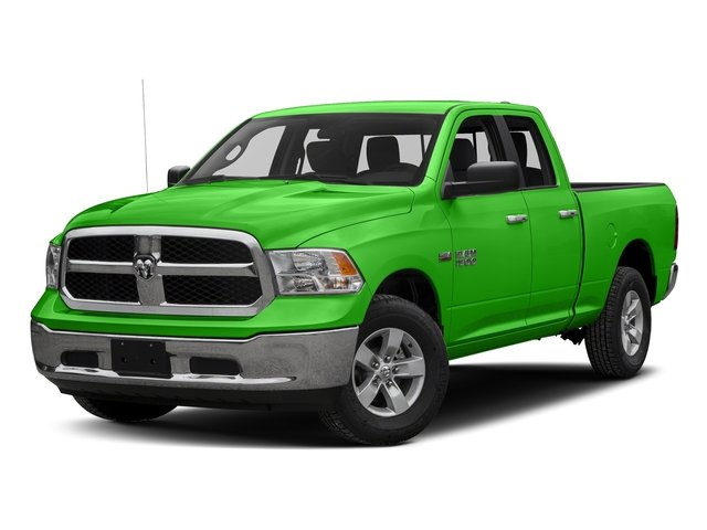 Hills Green 2017 Ram Truck 1500 Pictures 1500 Quad Cab SLT 2WD photos front view