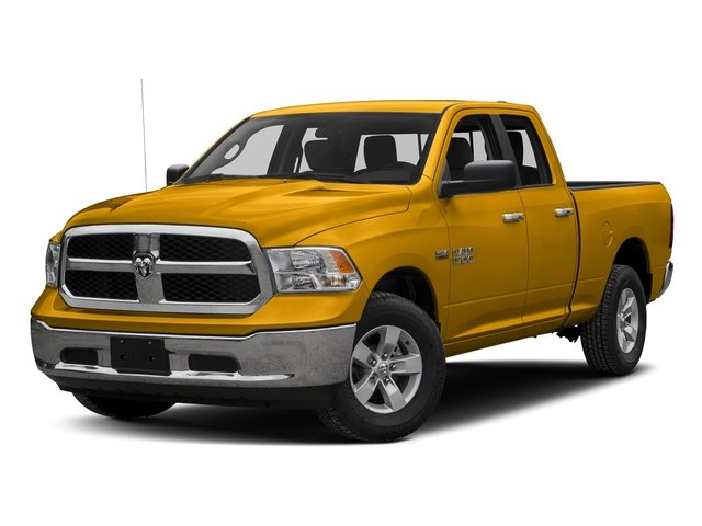 Construction Yellow 2017 Ram Truck 1500 Pictures 1500 Quad Cab Bighorn/Lone Star 2WD photos front view
