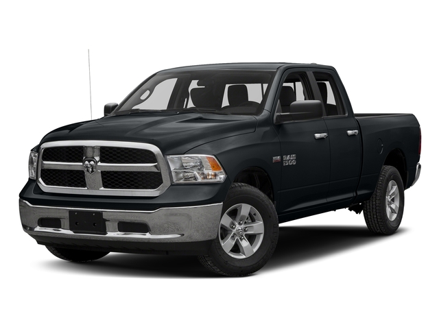 Maximum Steel Metallic Clearcoat 2017 Ram Truck 1500 Pictures 1500 Quad Cab SLT 2WD photos front view
