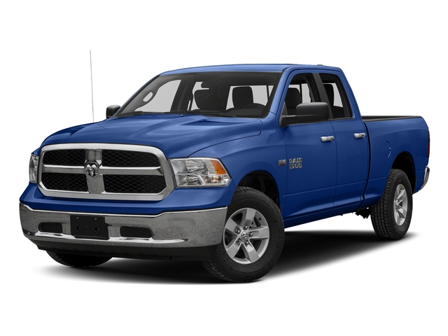 Blue Streak Pearlcoat 2017 Ram Truck 1500 Pictures 1500 Quad Cab Bighorn/Lone Star 2WD photos front view