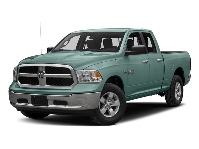 Light Green 2017 Ram Truck 1500 Pictures 1500 Quad Cab SLT 2WD photos front view