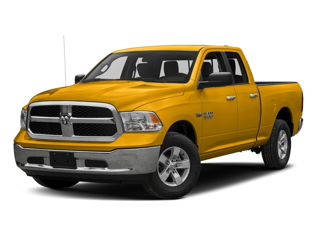 Detonator Yellow Clearcoat 2017 Ram Truck 1500 Pictures 1500 Quad Cab SLT 2WD photos front view