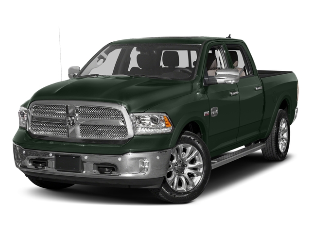 Black Forest Green Pearlcoat 2017 Ram Truck 1500 Pictures 1500 Longhorn 4x4 Crew Cab 6'4 Box photos front view