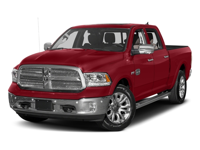 Flame Red Clearcoat 2017 Ram Truck 1500 Pictures 1500 Longhorn 4x4 Crew Cab 6'4 Box photos front view