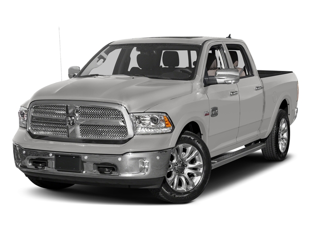 Bright Silver Metallic Clearcoat 2017 Ram Truck 1500 Pictures 1500 Limited 4x2 Crew Cab 5'7 Box photos front view