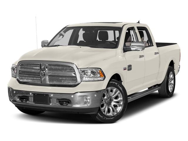 Pearl White 2017 Ram Truck 1500 Pictures 1500 Limited 4x2 Crew Cab 5'7 Box photos front view