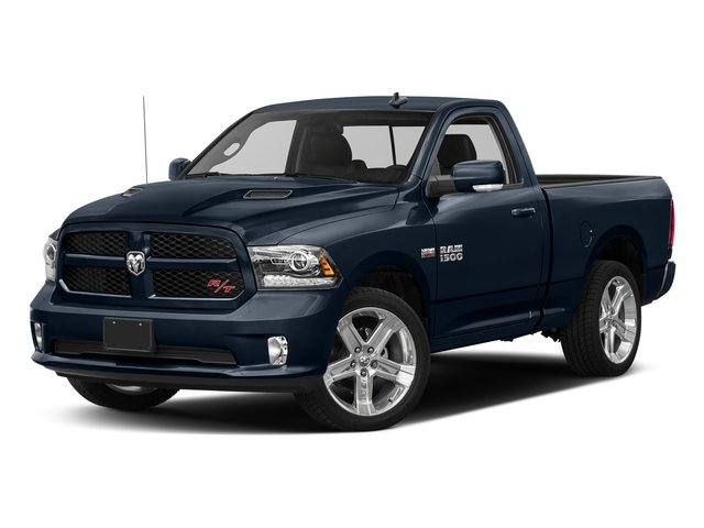 True Blue Pearlcoat 2017 Ram Truck 1500 Pictures 1500 Night 4x4 Regular Cab 6'4 Box photos front view