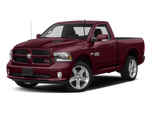 Delmonico Red Pearlcoat 2017 Ram Truck 1500 Pictures 1500 Night 4x4 Regular Cab 6'4 Box photos front view