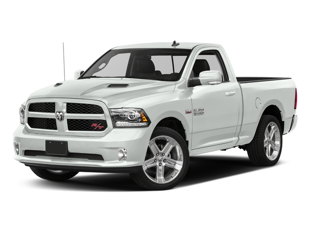 Bright White Clearcoat 2017 Ram Truck 1500 Pictures 1500 Night 4x2 Regular Cab 6'4 Box photos front view