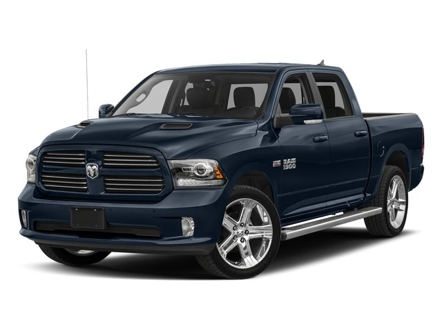 True Blue Pearlcoat 2017 Ram Truck 1500 Pictures 1500 Night 4x2 Crew Cab 5'7 Box photos front view
