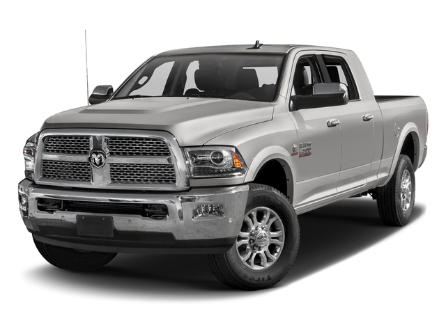 Bright Silver Metallic Clearcoat 2017 Ram Truck 2500 Pictures 2500 Mega Cab Laramie 4WD photos front view