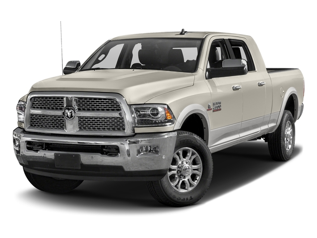 Pearl White 2017 Ram Truck 2500 Pictures 2500 Mega Cab Laramie 4WD photos front view