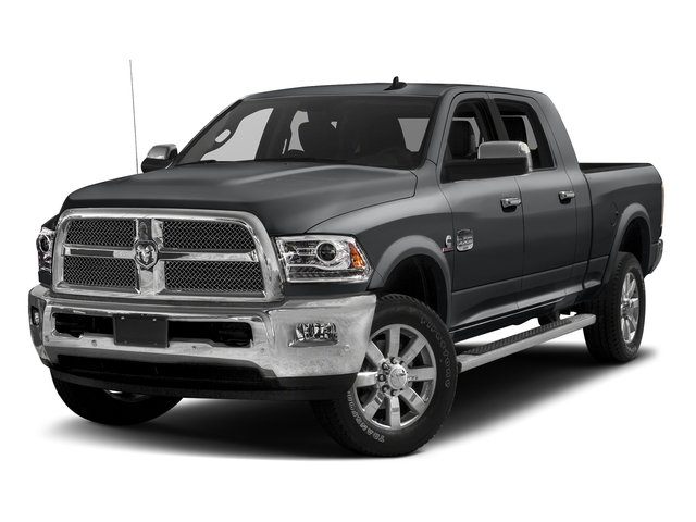 Granite Crystal Metallic Clearcoat 2017 Ram Truck 2500 Pictures 2500 Mega Cab Limited 2WD photos front view