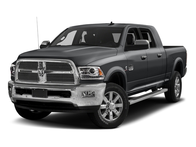 Granite Crystal Metallic Clearcoat 2017 Ram Truck 2500 Pictures 2500 Mega Cab Limited 4WD photos front view