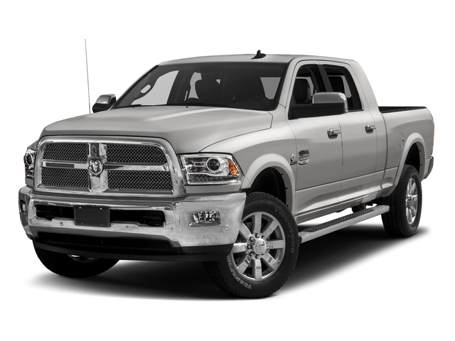 Bright Silver Metallic Clearcoat 2017 Ram Truck 2500 Pictures 2500 Mega Cab Limited 4WD photos front view
