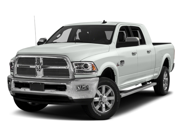 Bright White Clearcoat 2017 Ram Truck 2500 Pictures 2500 Mega Cab Limited 2WD photos front view
