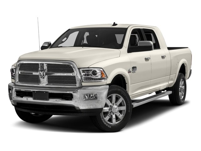 Pearl White 2017 Ram Truck 2500 Pictures 2500 Mega Cab Limited 2WD photos front view