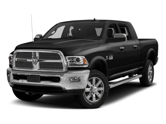 Brilliant Black Crystal Pearlcoat 2017 Ram Truck 2500 Pictures 2500 Mega Cab Limited 4WD photos front view
