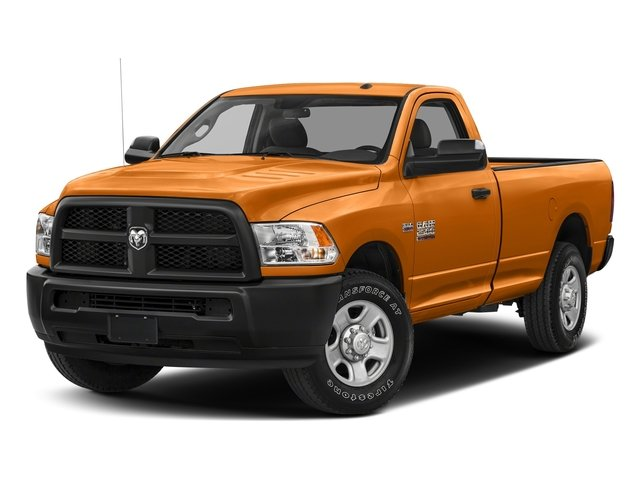 Omaha Orange 2017 Ram Truck 2500 Pictures 2500 Regular Cab SLT 2WD photos front view