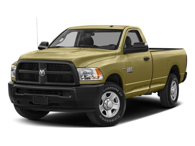 Light Cream 2017 Ram Truck 2500 Pictures 2500 SLT 4x4 Reg Cab 8' Box photos front view