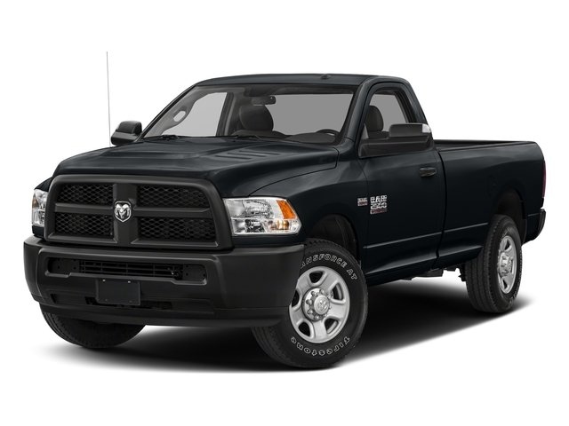 Maximum Steel Metallic Clearcoat 2017 Ram Truck 2500 Pictures 2500 Regular Cab SLT 2WD photos front view