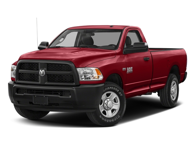 Flame Red Clearcoat 2017 Ram Truck 2500 Pictures 2500 Regular Cab SLT 2WD photos front view