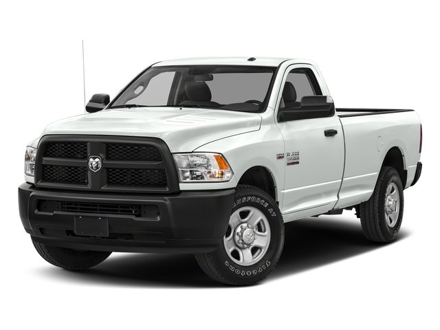 Bright White Clearcoat 2017 Ram Truck 2500 Pictures 2500 Regular Cab SLT 2WD photos front view