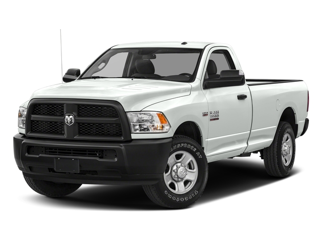Bright White Clearcoat 2017 Ram Truck 2500 Pictures 2500 SLT 4x4 Reg Cab 8' Box photos front view