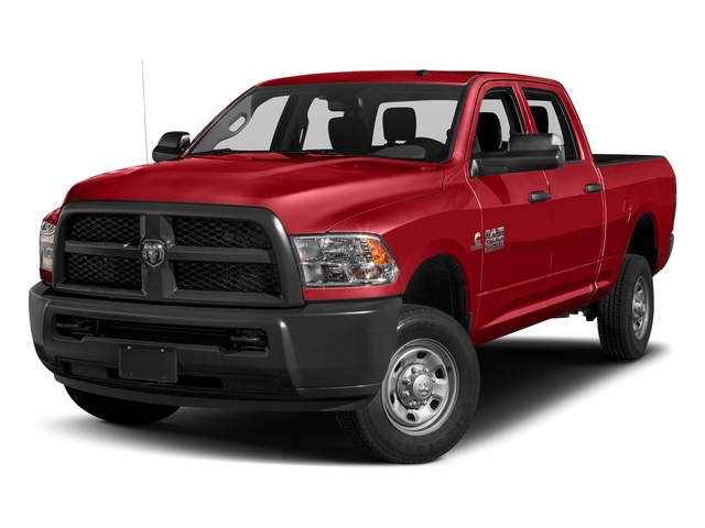 Bright Red 2017 Ram Truck 2500 Pictures 2500 Crew Power Wagon Tradesman 4WD photos front view